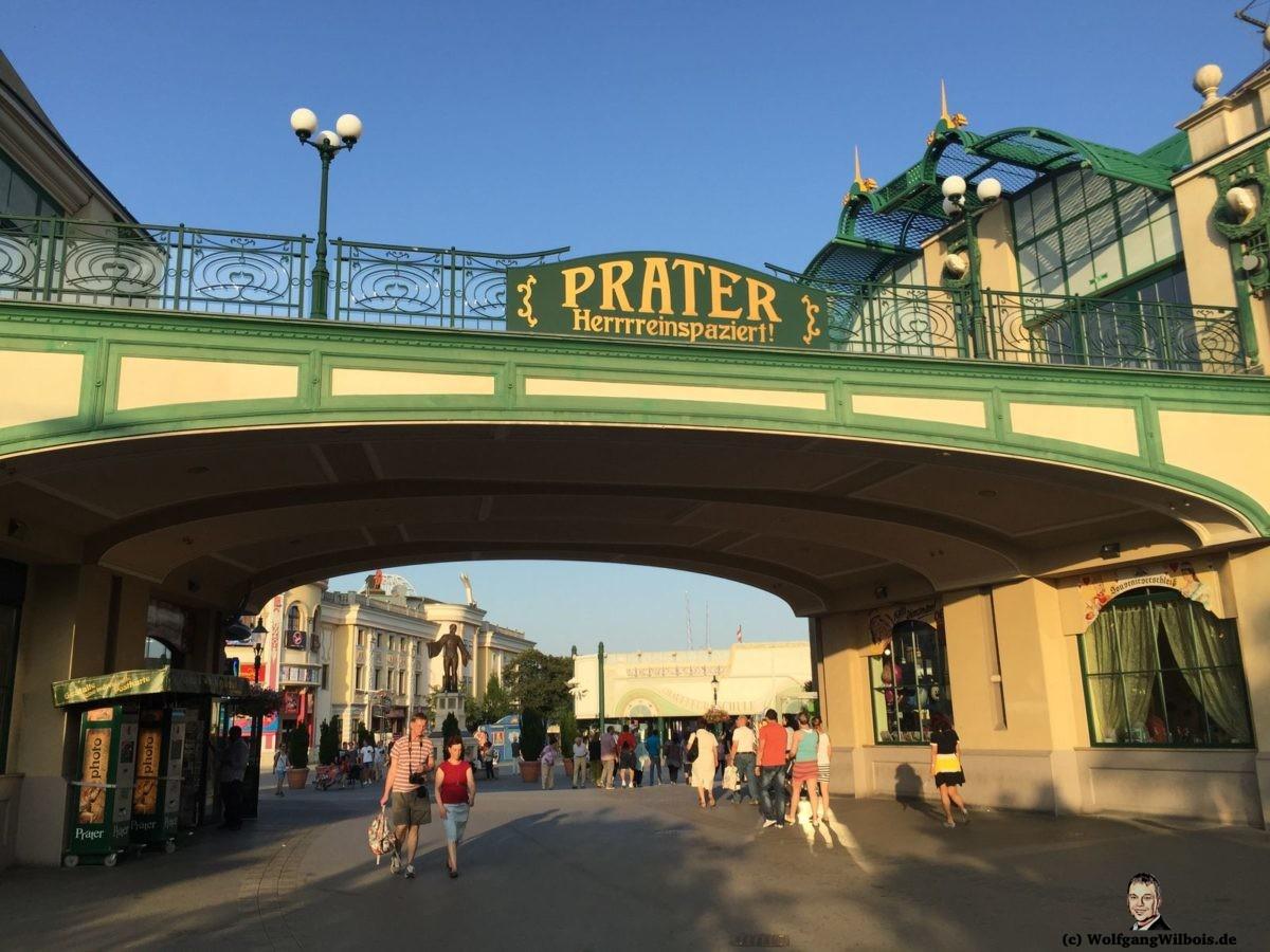 Wien Eingang Prater