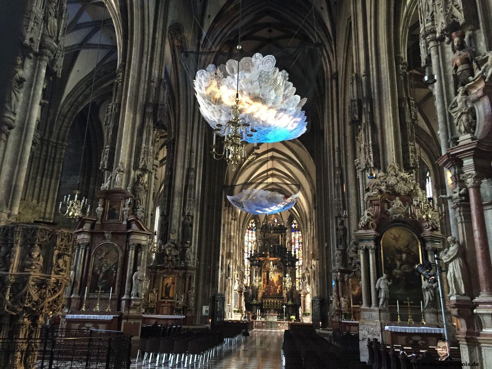 Wien Stephansdom innen