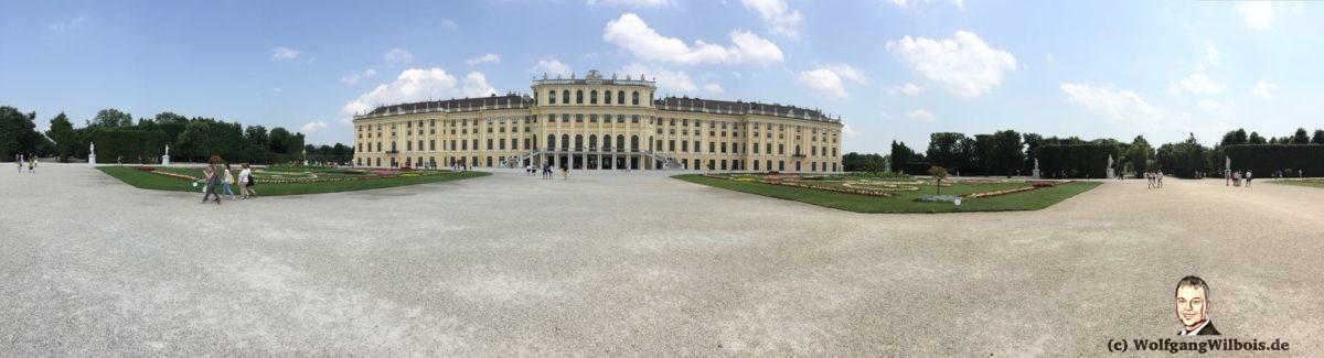 Wien Schloss Schoenbrunn Panorama