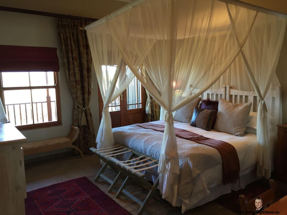 De Zeekoe Gästefarm Oudtshoorn Schlafzimmer