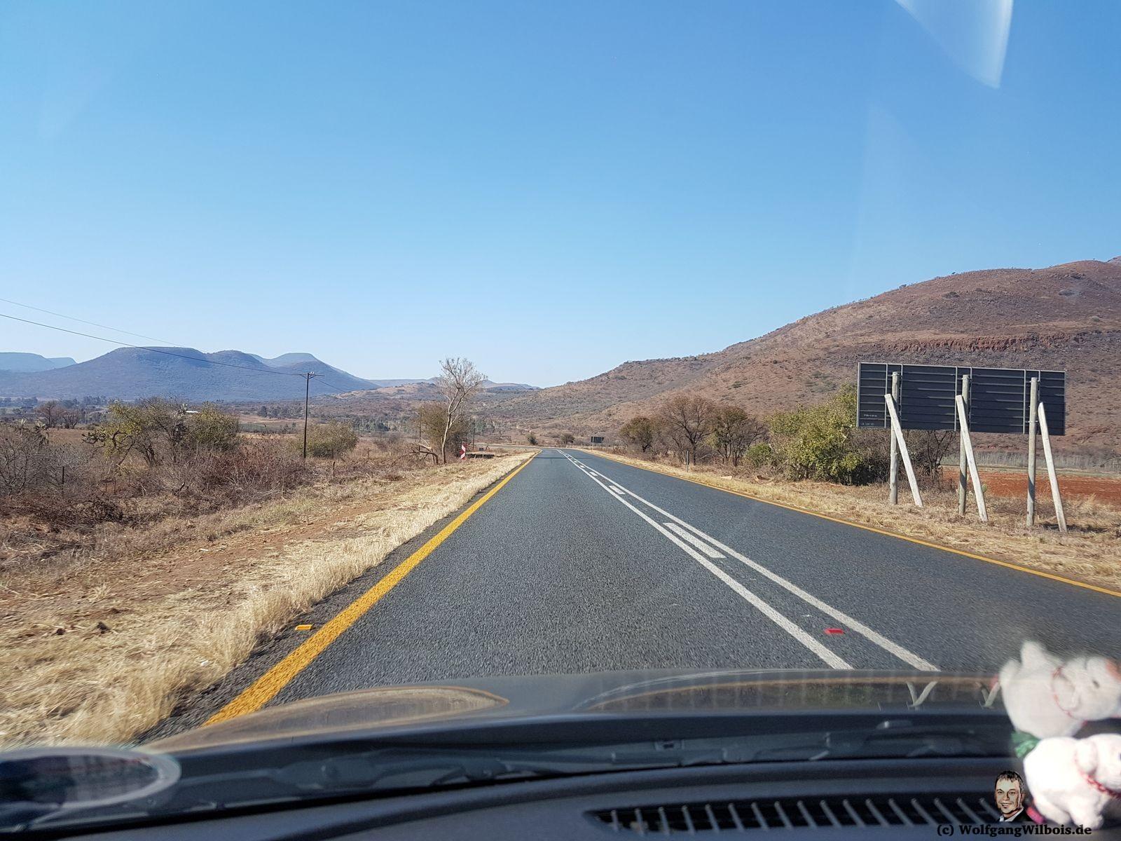 Südafrika unterwegs im Auto