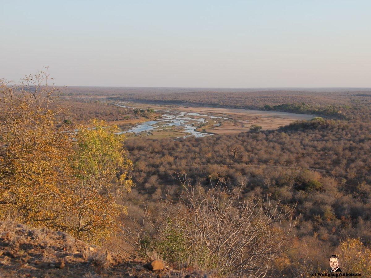 Suedafrika Krueger Nationalpark Aussicht Olifants Rest Camp
