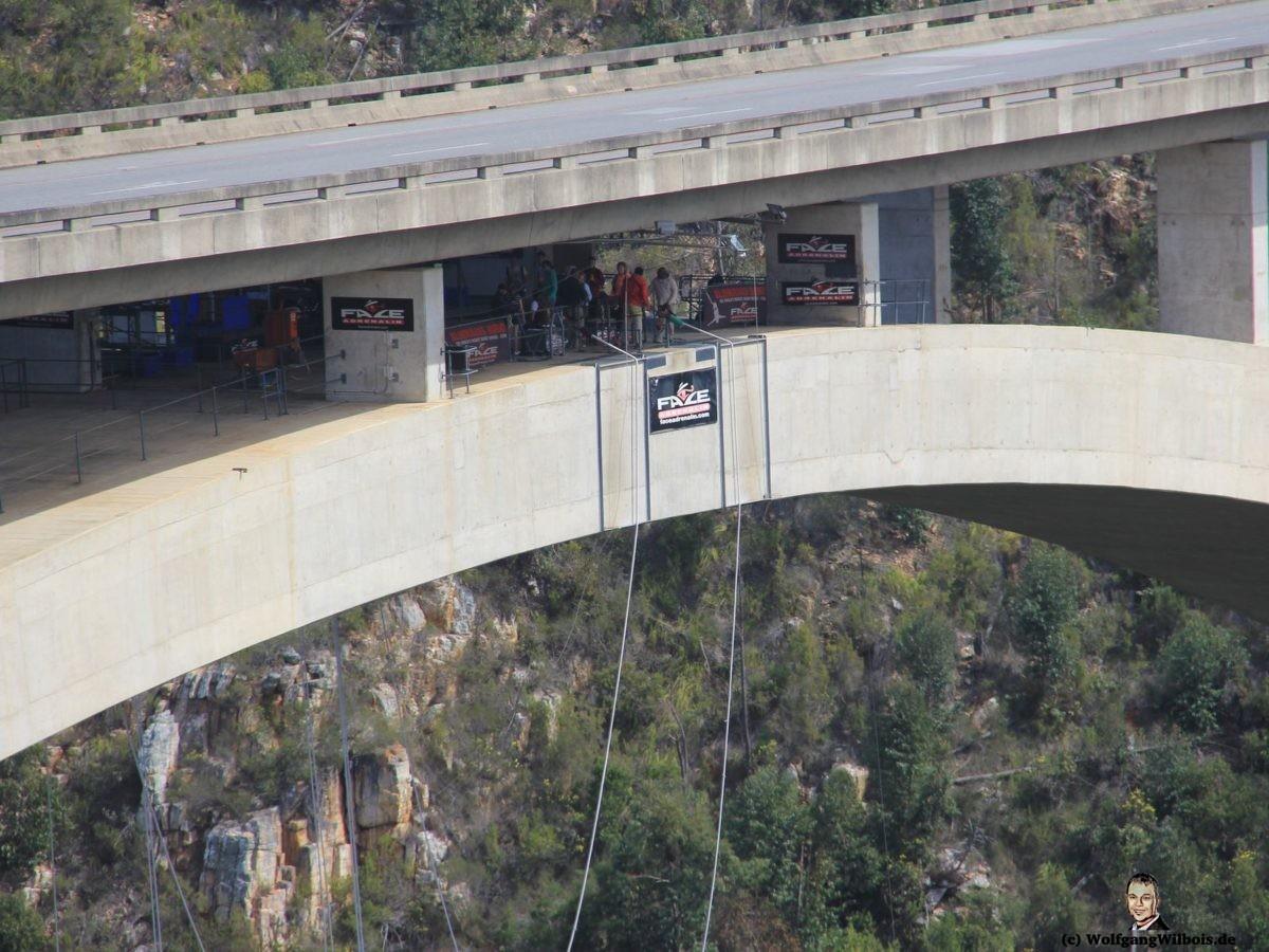 Südafrika Tag 13 Bloukransbridge Bungeejump