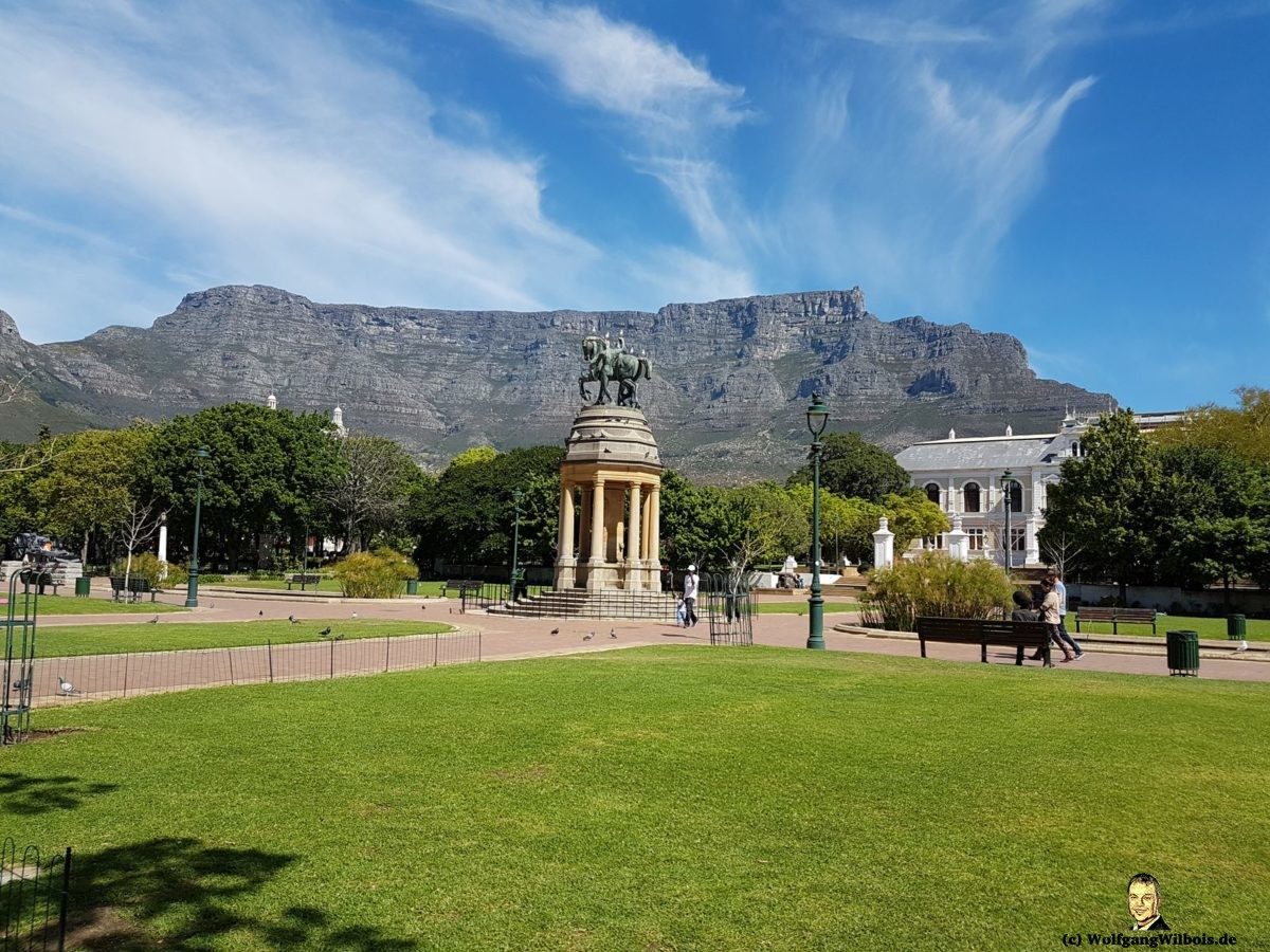 Tag 18 Tafelberg Kapstadt Stadtpark