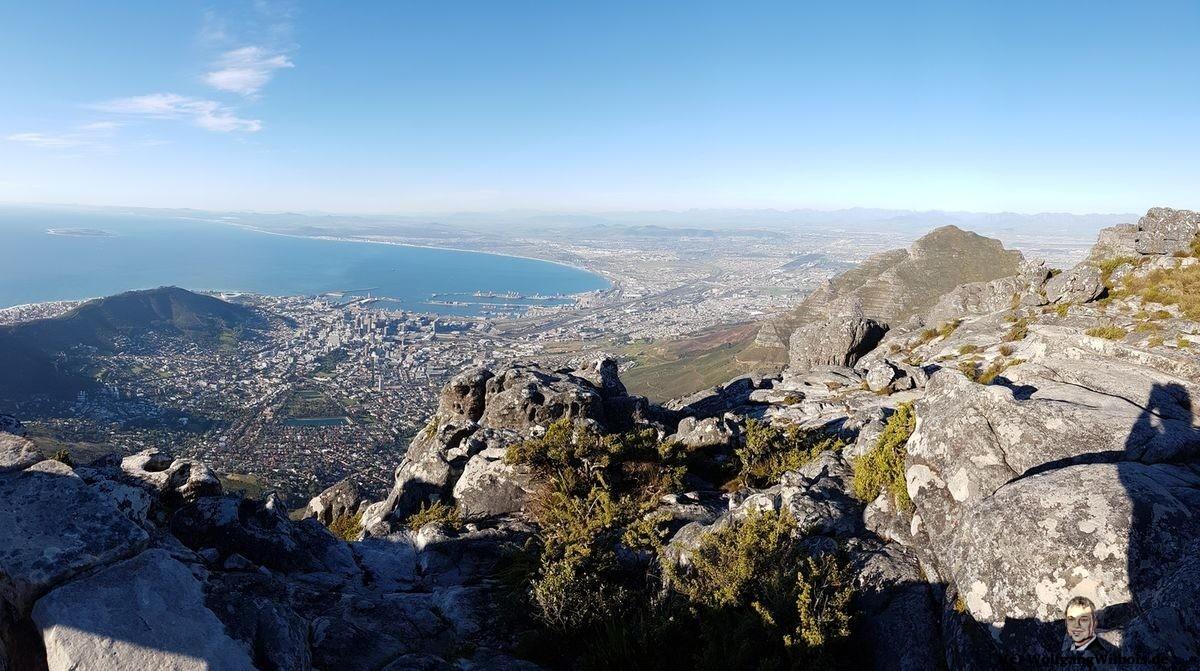 Tag 18 Tafelberg Kapstadt Panorama