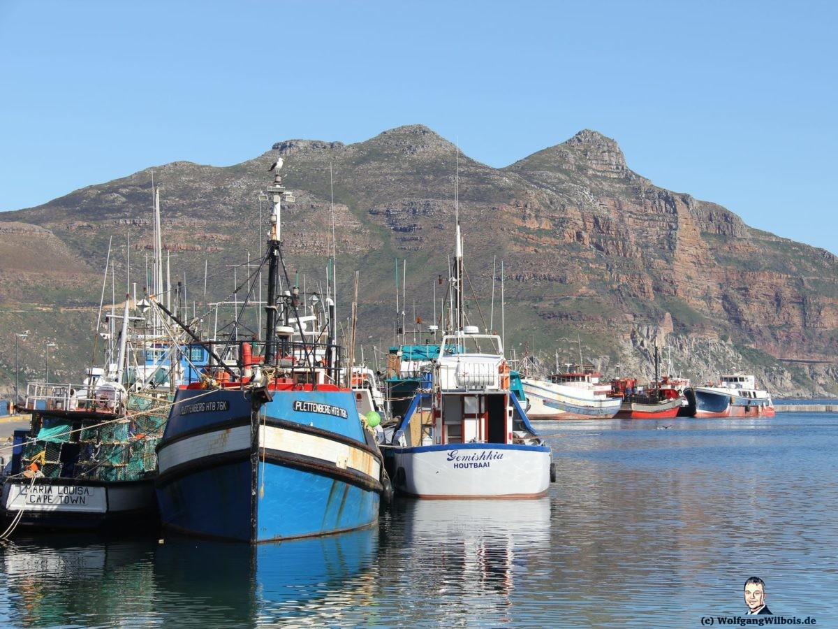 Tag 19 Hout Bay Hafen