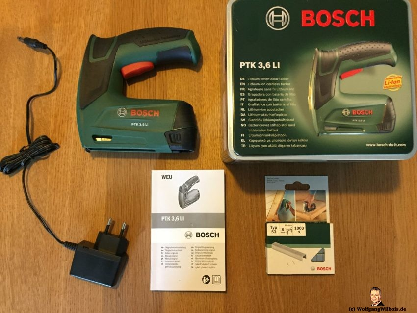 Akku Tacker Bosch PTK 3.6 LI