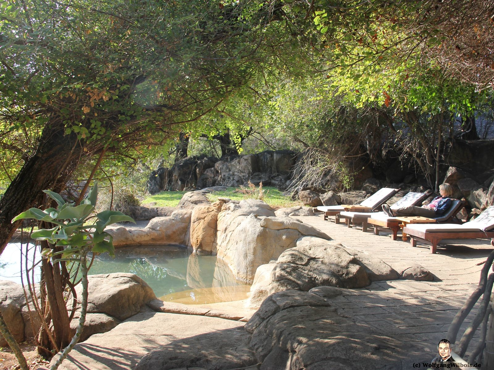 Blyde River Wilderness Lodge Hoedspruit Felsenpool