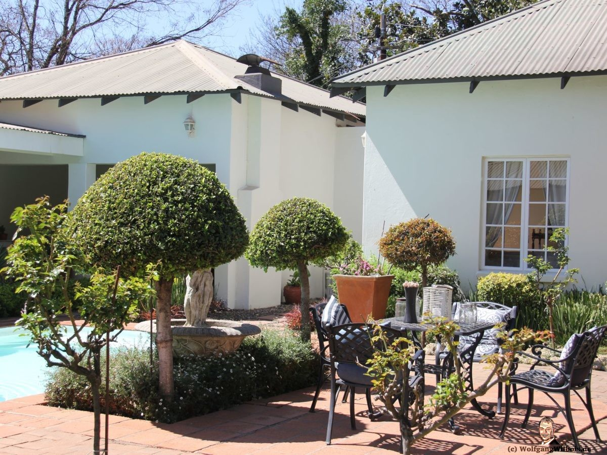 Brooks Cottage Pretoria Garten