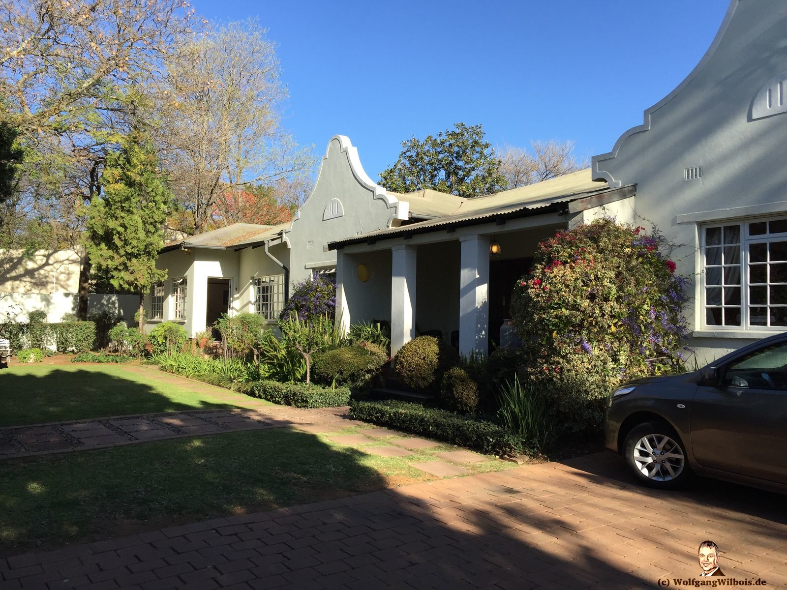Brooks Cottage Pretoria aussen
