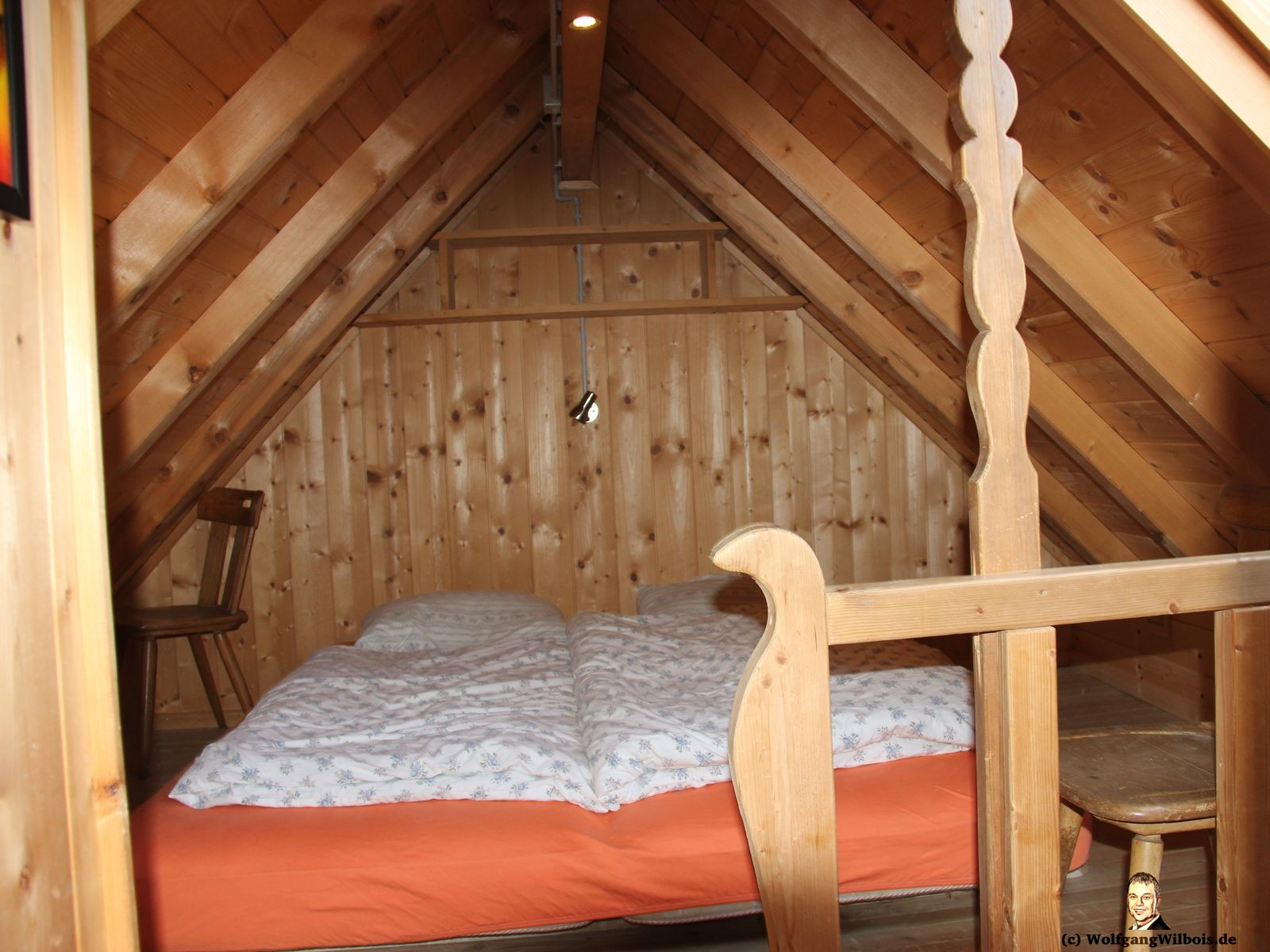 Costaces Huette Wuerzjoch Schlafzimmer