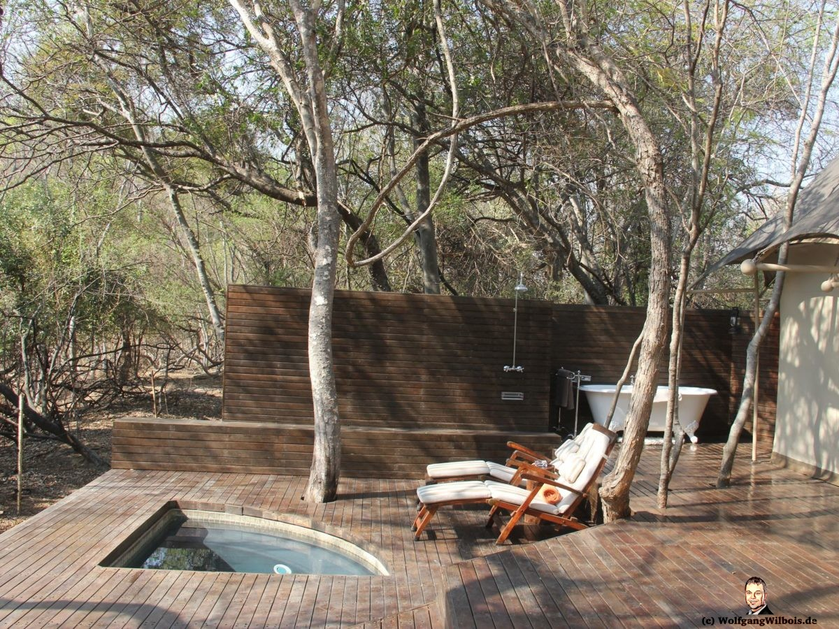 Nkomazi Game Reserve Terrasse