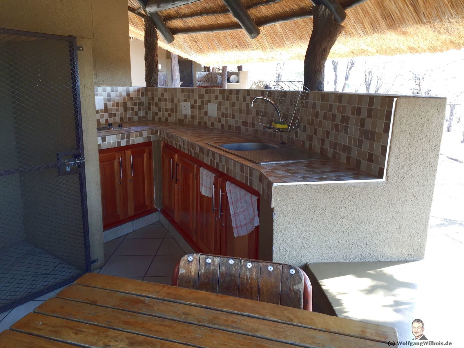 Olifants Rest Camp Krueger National Park Kueche