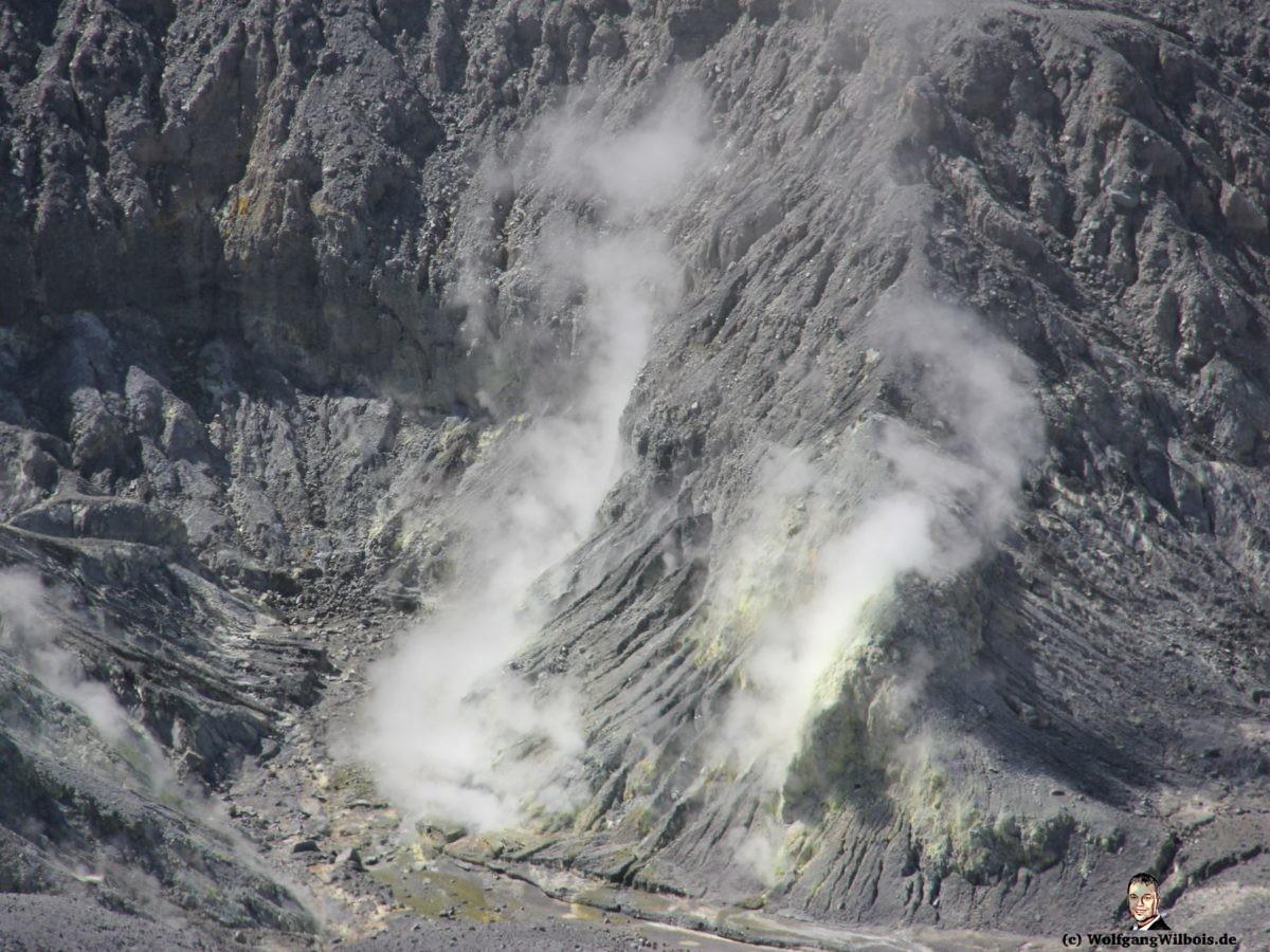 Vulkan Tangkuban Perahu Bandung Indonesien