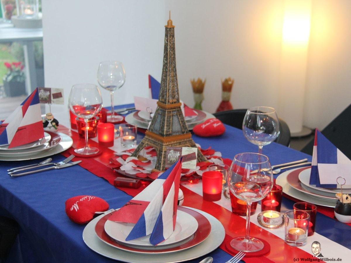 Kochclub Kochen Paris Tischdeko Tischdekoration Frankreich
