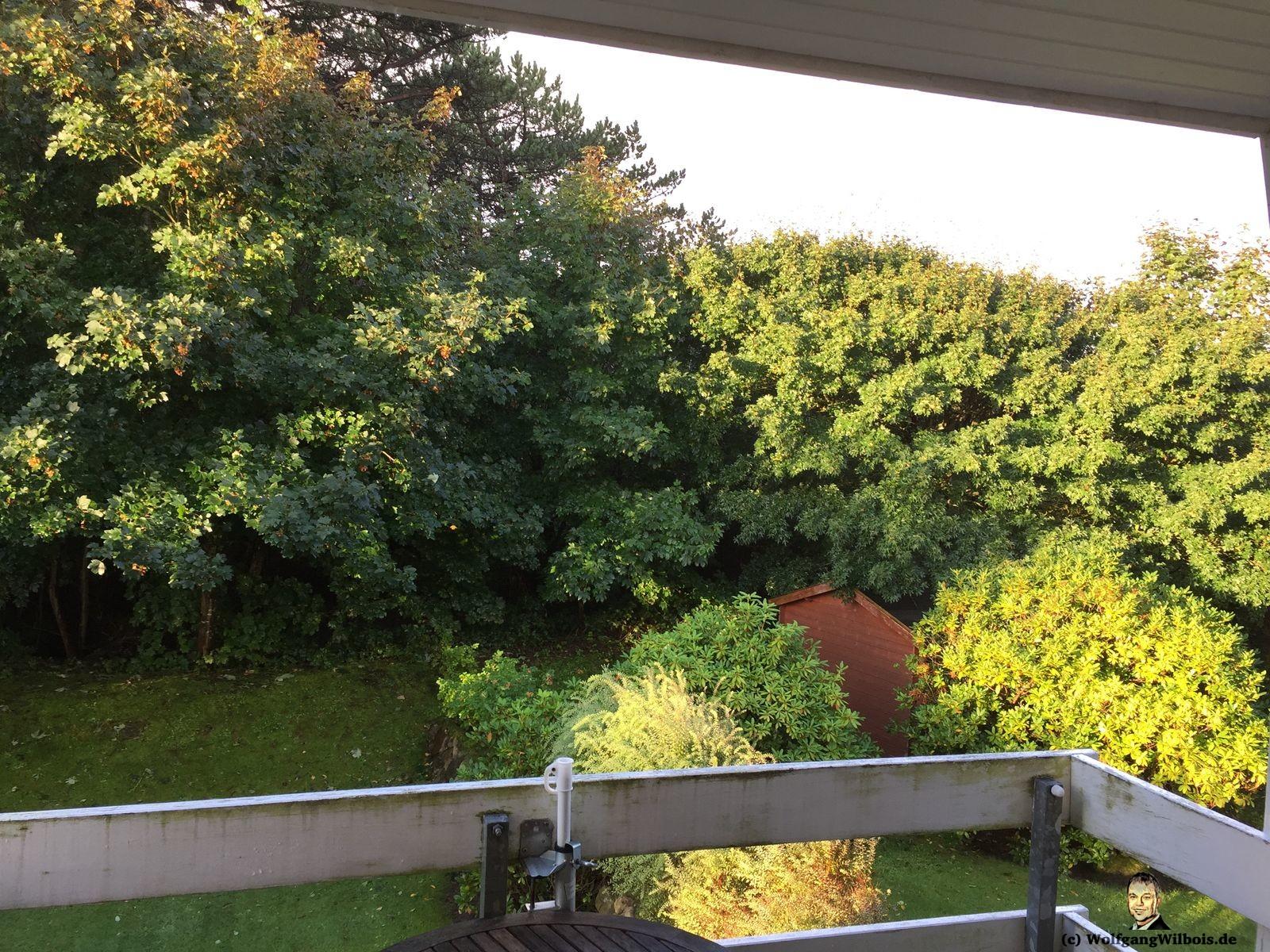 Ferienwohnung Sylt Blick Balkon
