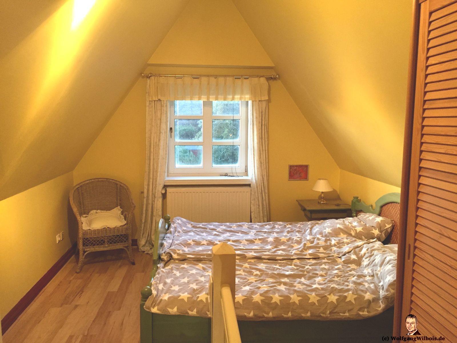 Ferienwohnung Sylt Schlafzimmer