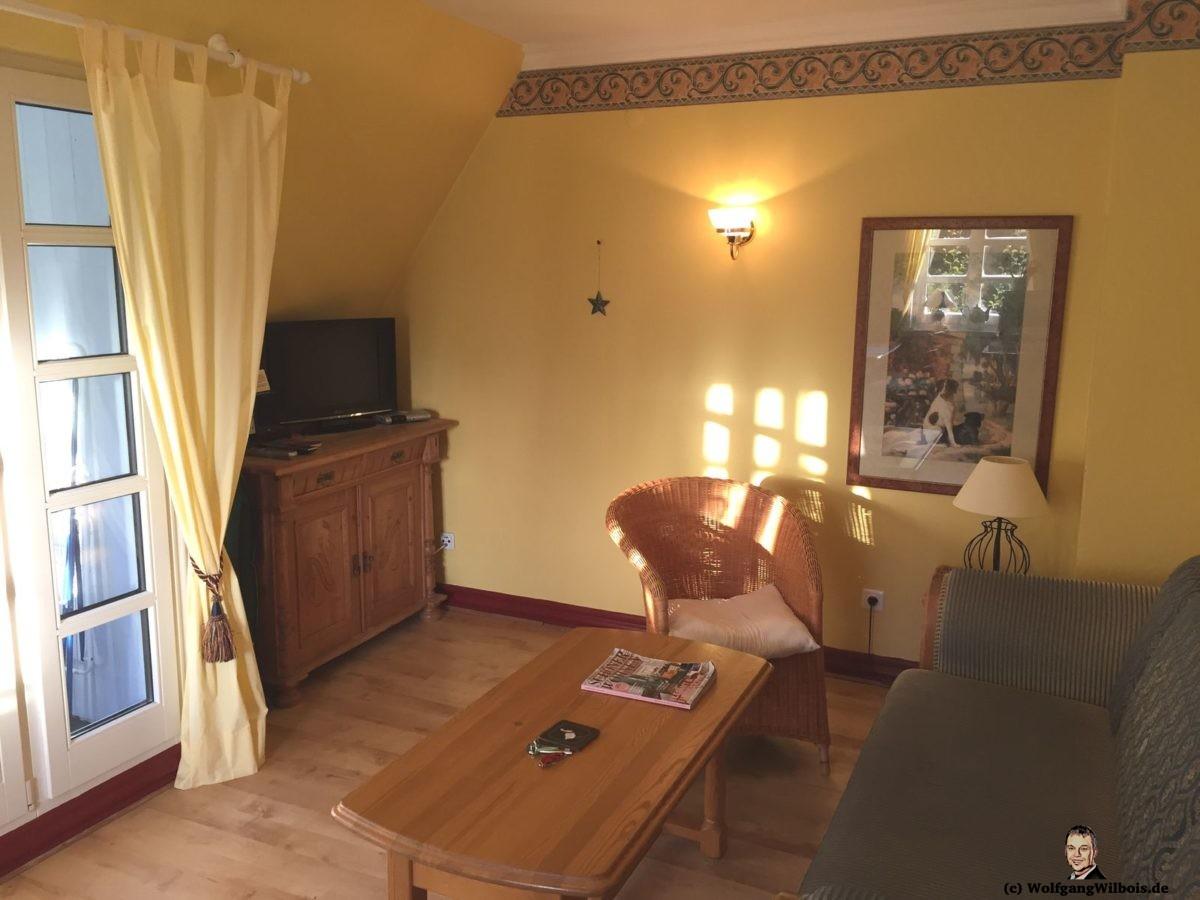 Ferienwohnung Sylt Wohnzimmer