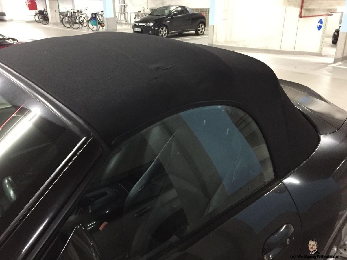 Cabrioverdeck repariert BMW Z4