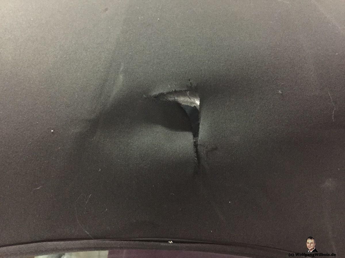 Cabrioverdeck Vandalismus BMW Z4