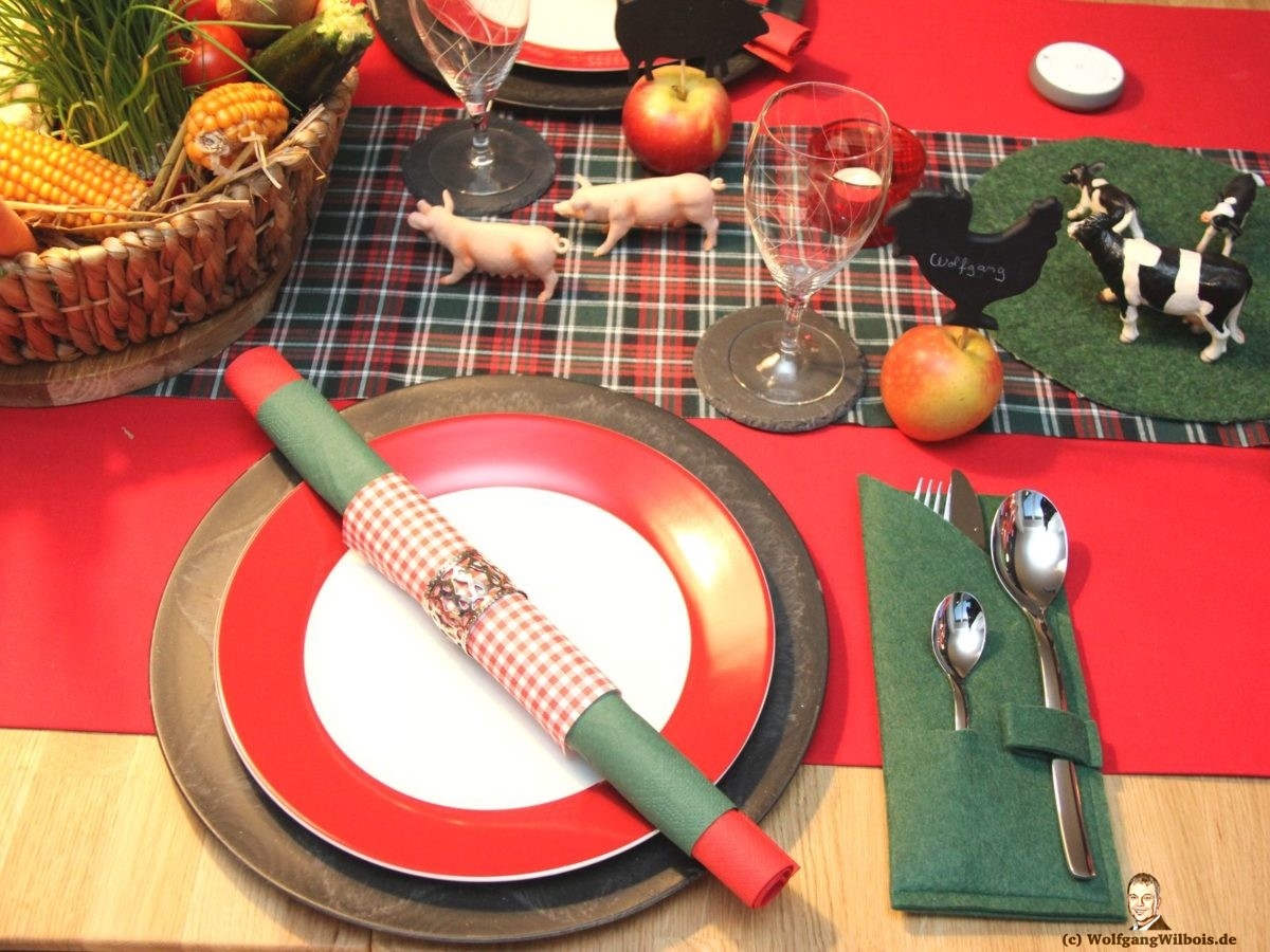 Unsere kleine Farm Tischdeko