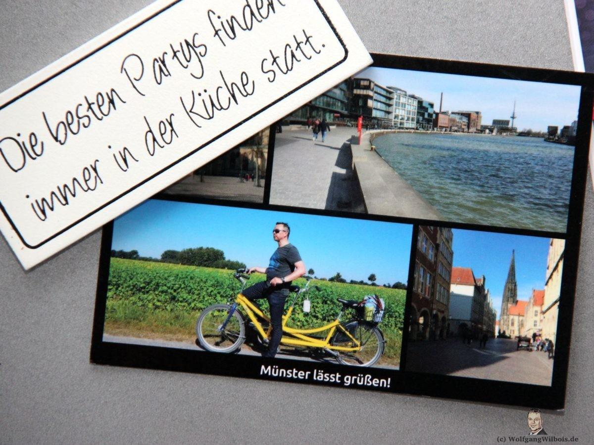 MyPostcard Kuehlschrank App Postkarten online bestellen