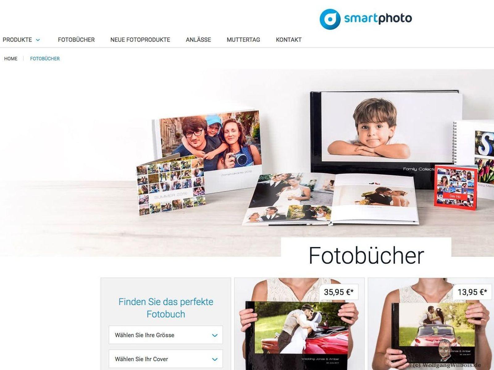 Smartphoto Webseite