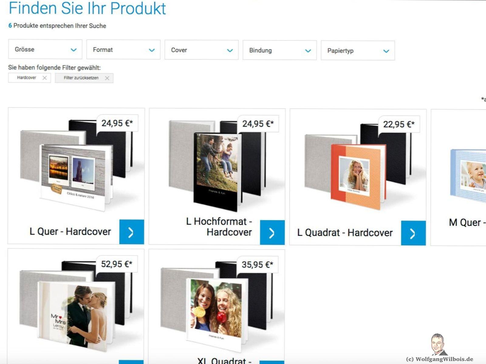 Smartphoto Auswahl