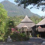 Backpacking Borneo Sawarak Cultural Village