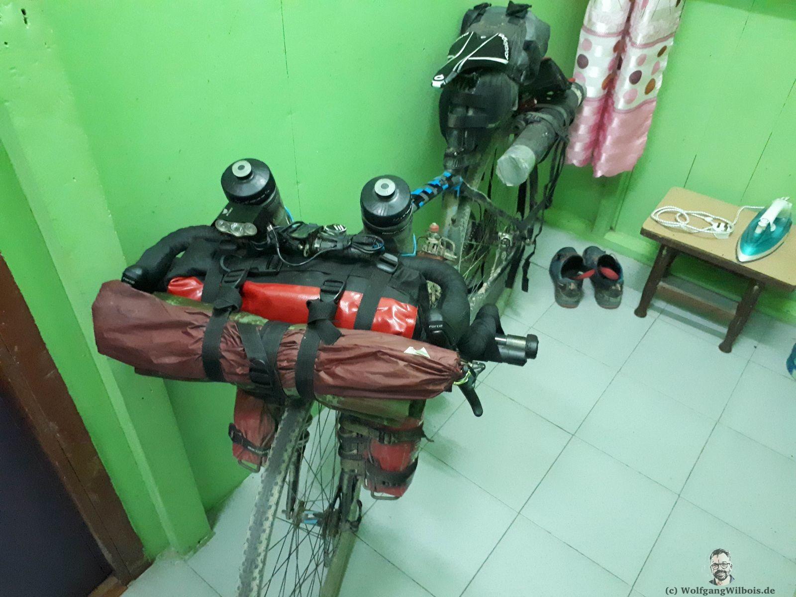 Borneo Tag 6 Pedros Fahrrad