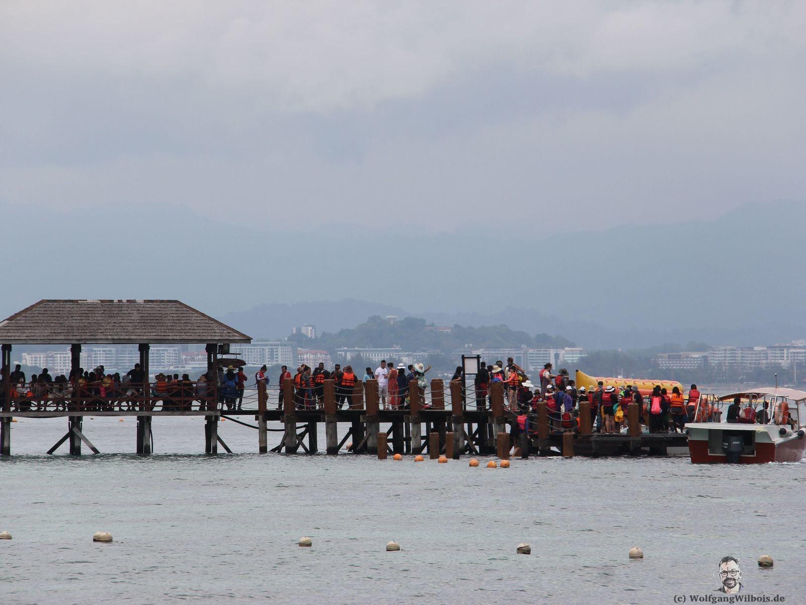 Waran Manukan Island Borneo