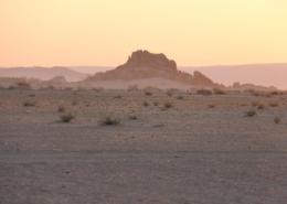 Namibia Tag 02 Desert Camp Sonnenuntergang