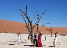 Namibia Tag 03 Deadvlei Fotoshooting