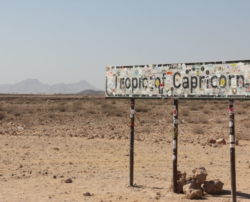 Namibia Tag 04 Tropic of Capricorn