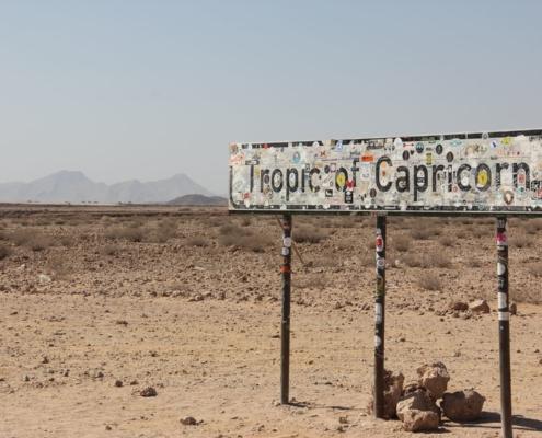 Namibia Tag 04 Tropic of Capricorn