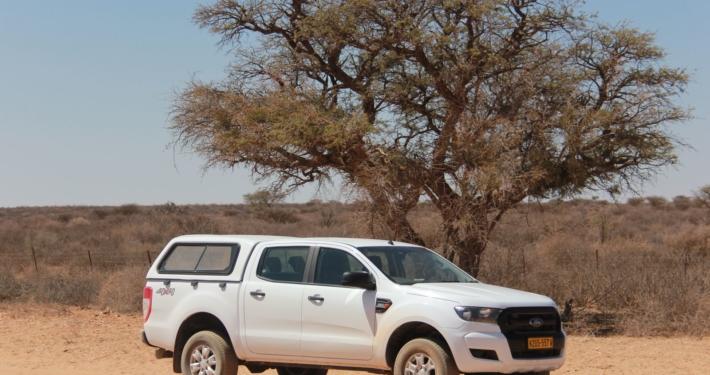 Namibia Tag 1 Ford Ranger 4x4