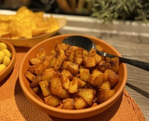Tapas Abend Bratkartoffeln